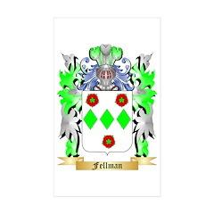 Fellman Sticker (Rectangle 50 pk)