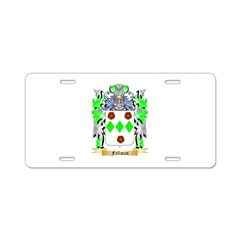 Fellman Aluminum License Plate
