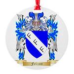 Felizon Round Ornament