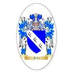 Feliz Sticker (Oval 50 pk)