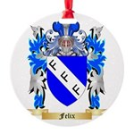 Felix Round Ornament
