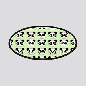 Cute Panda Expressions Pattern Patches