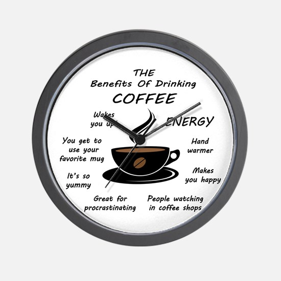 The Benefits Of Cofee Wall Clock