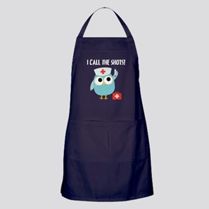 Owl Nurse Apron (dark)