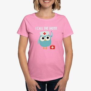 Owl Nurse Women's Dark T-Shirt