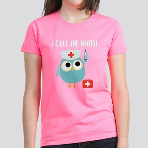 Owl Nurse Women's Dark T-Shirt