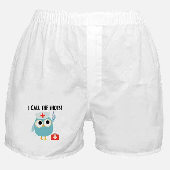 Owl Nurse Boxer Shorts