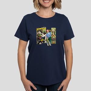 Professor X Comic Panel Women's Dark T-Shirt