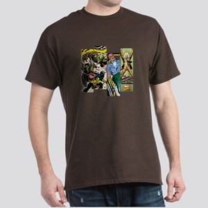 Professor X Comic Panel Dark T-Shirt