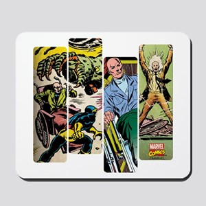 Professor X Comic Panel Mousepad