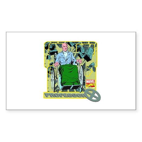 Professor X Sticker (Rectangle)