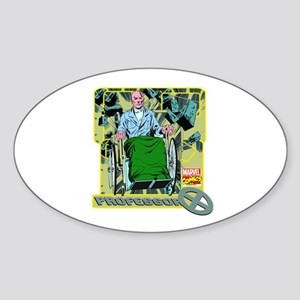 Professor X Sticker (Oval)