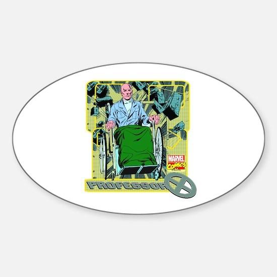 Professor X Sticker (Oval)