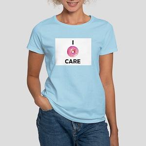 I DONUT CARE WOMEN's T-SHIRT