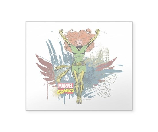 Phoenix square sticker 3 x