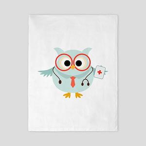 Owl Doctor Twin Duvet