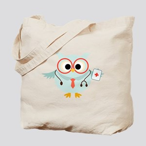 Owl Doctor Tote Bag