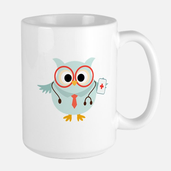 Owl Doctor Large Mug