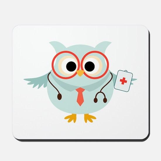 Owl Doctor Mousepad