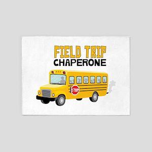Field Trip Chaperone 5'x7'Area Rug