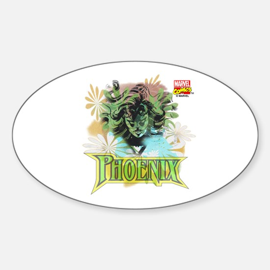 Phoenix Sticker (Oval)