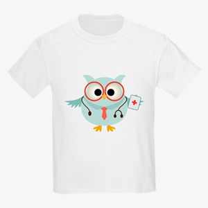 Owl Doctor Kids Light T-Shirt