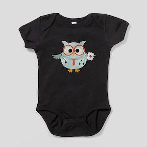 Owl Doctor Baby Bodysuit