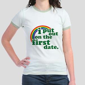 First Date Jr. Ringer T-Shirt
