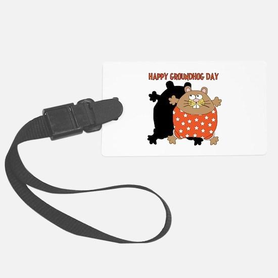 Happy Groundhog Day Luggage Tag