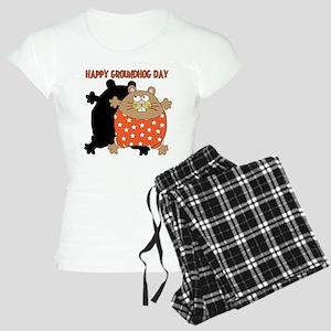 Happy Groundhog Day Women's Light Pajamas