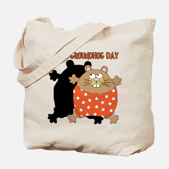 Happy Groundhog Day Tote Bag