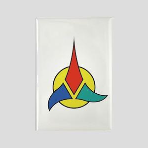 STAR TREK Klingon Rectangle Magnet