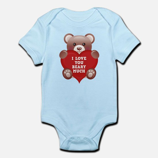 I Love You Beary Much Infant Bodysuit