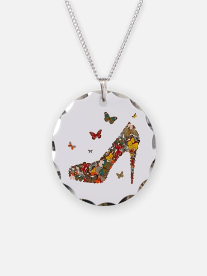 Butterflies and Heels Necklace