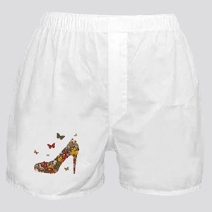 Butterflies and Heels Boxer Shorts