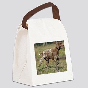 german shorthair pointer full Canvas Lunch Bag