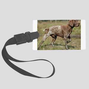 german shorthair pointer full Luggage Tag