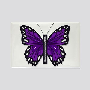 Chiari Awareness Zipper-Fly Magnets