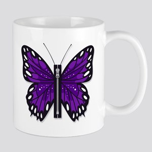 Chiari Awareness Zipper-Fly Mugs