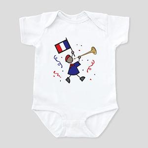 France Holiday Infant Bodysuit