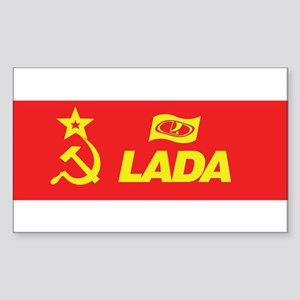USSR-Lada Long Sticker