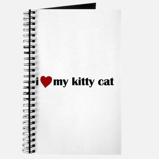 I love my kitty cat Journal