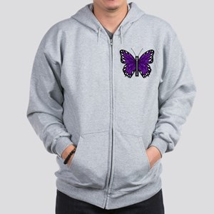 Chiari Awareness Zipper-Fly Sweatshirt