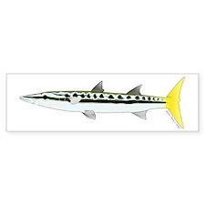 Yellowtail Barracuda Bumper Sticker