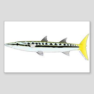 Yellowtail Barracuda Sticker