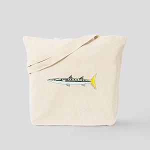 Yellowtail Barracuda c Tote Bag