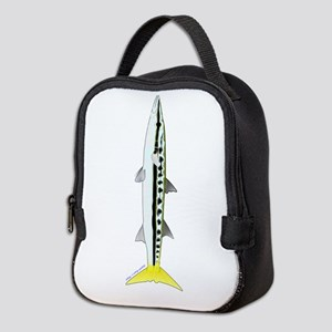 Yellowtail Barracuda c Neoprene Lunch Bag