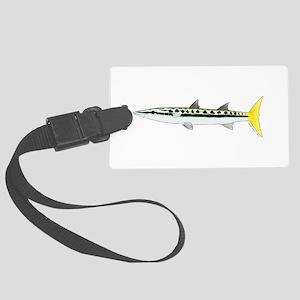 Yellowtail Barracuda c Luggage Tag