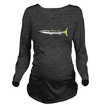 Yellowtail Barracuda c Long Sleeve Maternity T-Shi