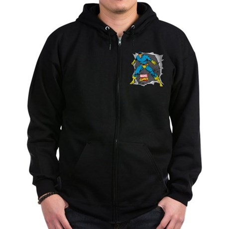 Cyclops X-Men Zip Hoodie (dark)